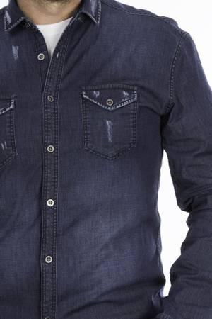 Koszula męska jeansowa LB model K21