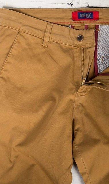Spodnie materiałowe, męskie chinosy 7647 kamelowe
